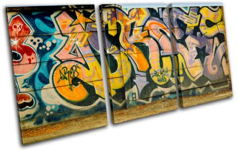 Abstract Urban Graffiti - 13-1976(00B)-TR21-LO